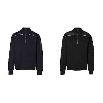 ID Mens halv Zip Uniform Genser genser