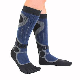 TOETOE Sports Ski Unisex Knee-High Toe Socks