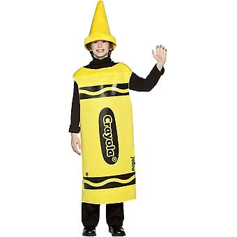 Costume Teen jaune crayon Crayola