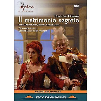D. Cimarosa - Clandestine Wedding [DVD] USA import
