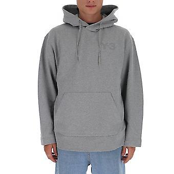Y-3 Gk4492mgreyh Männer's grau Baumwolle Sweatshirt