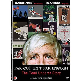 Far Out Isn't Far Enough: The Tomi Ungerer Story [DVD] USA import