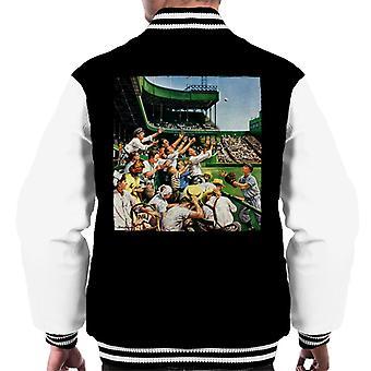 The Saturday Evening Post Baseball Catch Men's Varsity Jacket