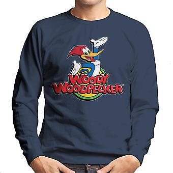 Woody Woodpecker Classic Logo Men's Sweatshirt