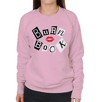 Mean Girls Burn Book Women's Sweatshirt
