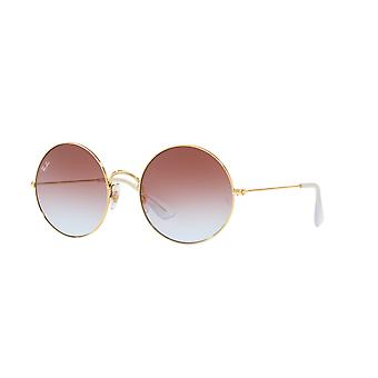 Ray-Ban Ja-Jo RB3592 001/I8 Gold/Light Blue-Violet Gradient Sunglasses