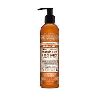 Orange and Lavender Body Lotion 237 ml