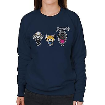 Aggretsuko Gori Washimi Retsuko Women's Sweatshirt