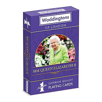 HM Queen Elizabeth II Waddingtons No.1 Playing Cards