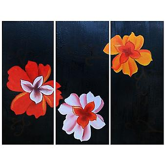 Oil on Canvas - Painting on Hand Painting - Elegance in Flower - Modern Painting Stay