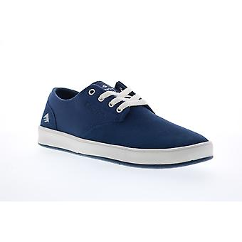 Emerica The Romero Laced Mens Blue Suede Skate Inspired Sneakers Shoes