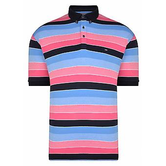 PETER GRIBBY Peter Gribby Multi Stripe Polo