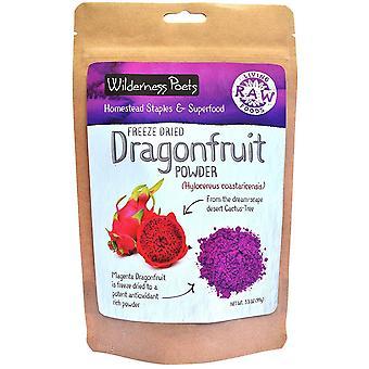 Wilderness Poets, Freeze Dried Dragon Fruit Powder, 3.5 oz (99 g)