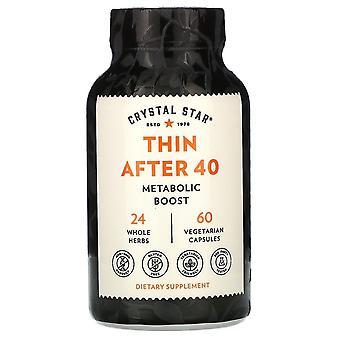 Crystal Star, Thin After 40, 60 Vegetarian Capsules