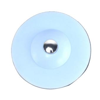 5PCS 10x5cm Bathtub Sink Strainer Blue