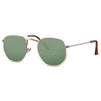 نظارات شمسية للجنسين الذهب / الأخضر (CWI2409)