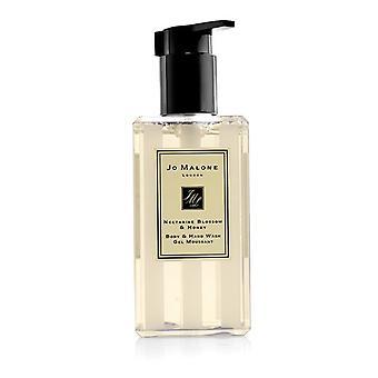 Jo Malone Nectarine Blossom & honing lichaam & handwas (met pomp) 250ml / 8,5 oz
