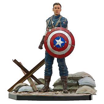 Cap America First Avenger Cap America WWII 1:10 Scale Statue