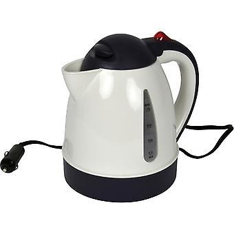 kettle 12V 1 litre 17 cm white