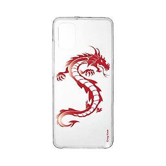 Runko Samsung Galaxy A31 Soft Red Dragonille
