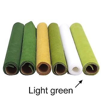 Mini multicolor Craft Paper/turf Para Moss falso artificial, césped decorativo,