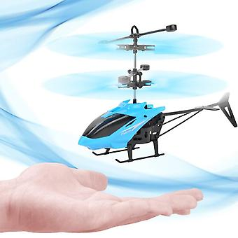Mini Rc Drone Helicopter - Infrared Induction 2 Channel Electronic , Funny