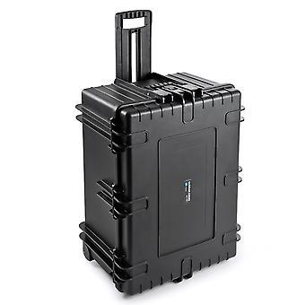 B & W Kültéri tok Típusa 7800 2 Rolls, Cube Hab, Fekete