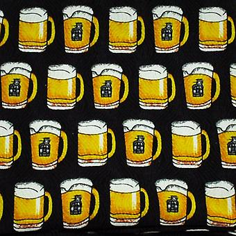 Solmiot Planet Tuoppi olutta Uutuus Pocket Square Nenäliina