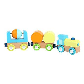 Legler Small Foot Children's Wooden Junior Train Toy Set (11495)