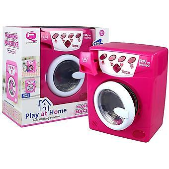La machine à laver fonctionne comme de vrais effets sonores et lumineux