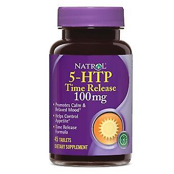 Natrol 5-HTP Time Release 100mg, 45 Tabs