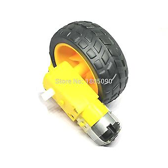 Tt Motor Smart Car Robot Gear Wheels Chassis Motor Kit For Arduino Robot Remote Control Car