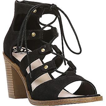 Fergalicious Womens Mambo Suede Open Toe Casual Strappy Sandals