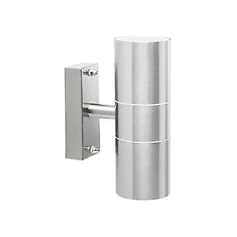 Byron Stainless Steel Up/Down Outdoor Light BYR2605010L