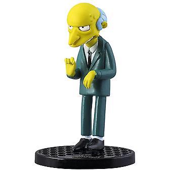 "PVC Figurine the Simpsons Montgomery Burns 2.75"""