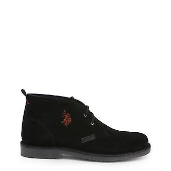 Us polo assn. 3119s4 men's suede laced shoes