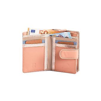 Primehide Leather Womens Purse Wallet RFID Blocking Card Wallet Ladies 8081