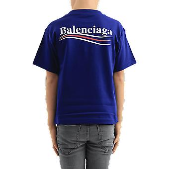 Balenciaga T-shrt Kids Blue 556155TIVB51195 Top