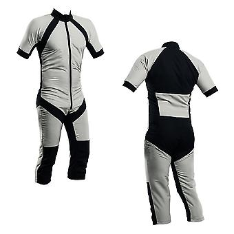 Skydiving summer suit silver s2-02