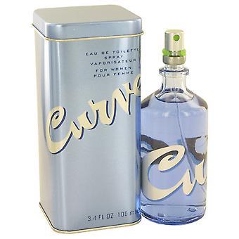CURVE-tekijä Liz Claiborne EDT Spray 100 ml