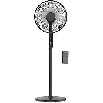Cozytek Black 14inch Oscillating Pedestal Standing Fan