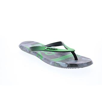 Rider R1 Energym  Mens Green Synthetic Flip-Flops Sandals Shoes