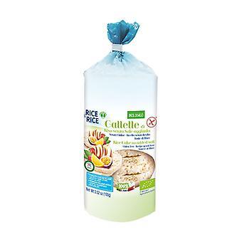 كعك الأرز الخالي من الملح 100 غ