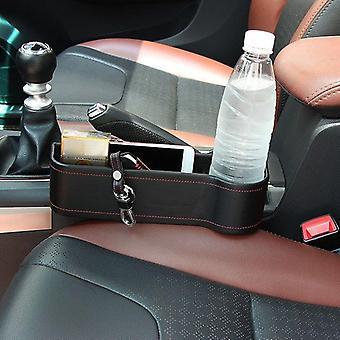 الجلود مقعد السيارة الجانب جيب منظم