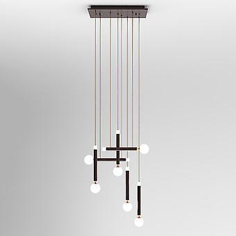 Moderne LED Opknoping Hang Hang Koffie, Warm Wit 3000K 3600lm