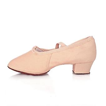 Women Ballet Soft Sole Low Heels Jazz Dancing Shoes