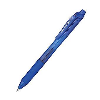 Energel-X Retractable Liquid Gel Pen, Blue, 0.7Mm