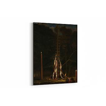 Gemälde - Die Leichen der Brüder De Witt - 70x100cm