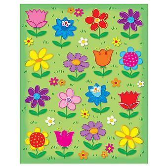 Autocollants en forme de fleurs, 96 autocollants