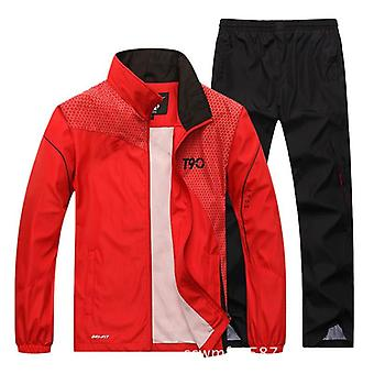 Άνδρες αθλητικές χαλαρές φόρμες, άνοιξη & φθινόπωρο γυμναστήριο τρέξιμο κοστούμι σύνολο